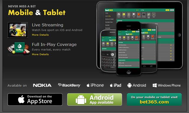 Bet365 APK para iOS