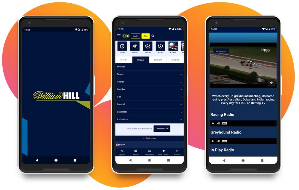 Por qué elegir William Hill App