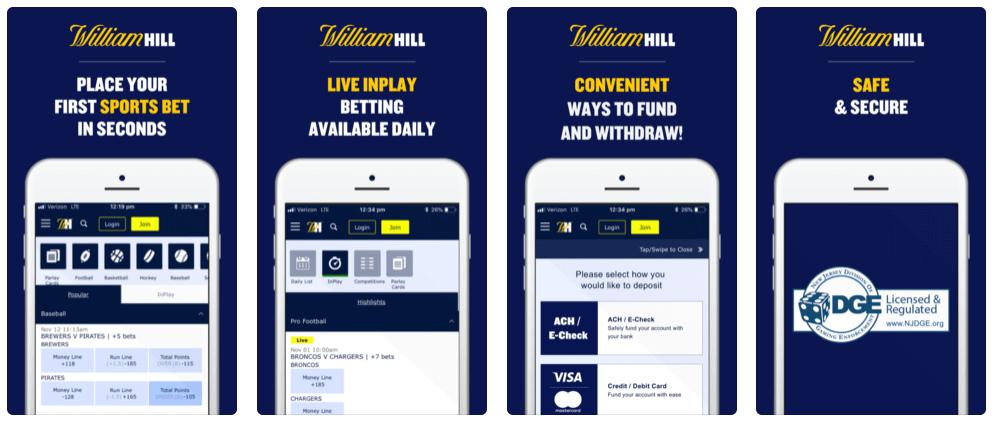 Ventajas de William Hill App